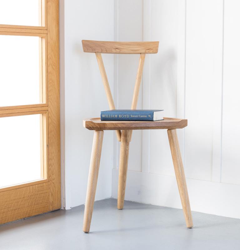 New 3 Legged Chair